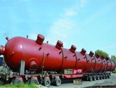 钛复合板精馏塔/蒸馏塔DN1600×20000