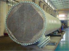 F=600m2锆管加热器