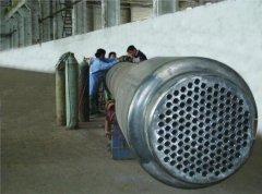 F=220m2纯钛换热器